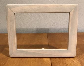 Unique Semi-Transparent Weathered Grey Frame