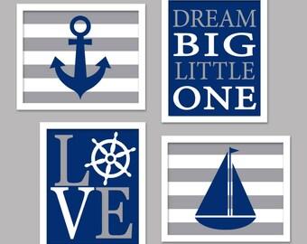 Nautical Dream Big Nursery Wall Art