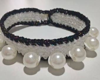 Crochet bead Stretch Bracelet