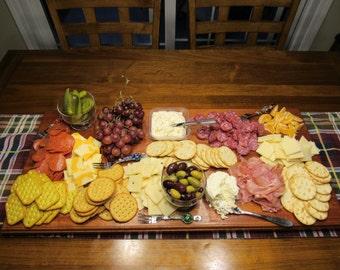 Mahogany Charcuterie / Cheese Board