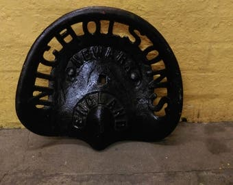 Sold****** Nicholsons Tractor seat. Free UK shipping