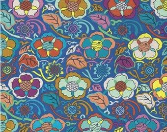 Free Spirit Fabrics - Himalaya - Temple Brocade by Snow Leopard Designs - 100% Cotton