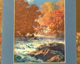 Maxfield Parrish Landscape Print