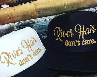 LuxLidz™ RIVER Hair DON'T Care Snapback Trucker Hat