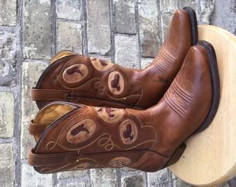 Western Fab Vintage Cowboy Boots