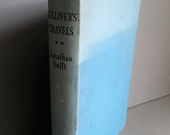 Vintage 'Gulliver's Travels' by Jonathan Swift - Undated Full Colour Plates