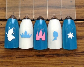 Snow Queen's Dreams Nail Decal