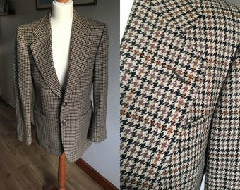 Vintage Tweed Jacket - Men's - 1960s - Willerby by Ritex - cloth by Bliss made in oxfordshire