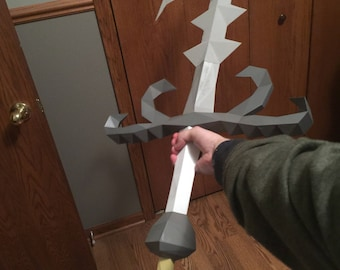 3D Printed Godsword (With Hilt Options)