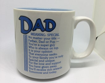 Two Tone Vintage Dad Coffee Cup