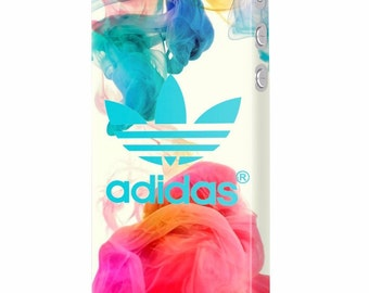 Sport Adidas colorful dye protective slim plastic case design for iPhone 5, 6, 7, Plus , Samsung S6, S7, Edge mobile phones
