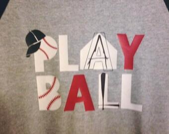 Play Ball Raglan