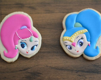 Shimmer and Shine Cookies (2)