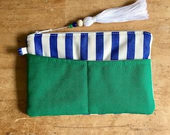 Small Clutch w/ Removable Wrist Strap