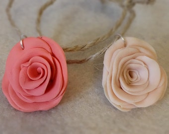 Rustic Clay Rose Wine Class Favour