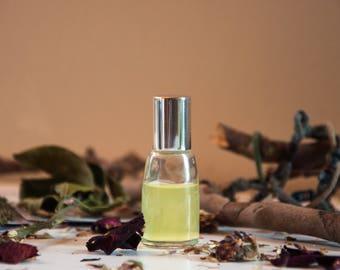 Tea With Magic - Natural Oil Perfume, Wake up perfume, Mood Oil Blend, Aromatherapy Perfume, Lemon, Orange Scent