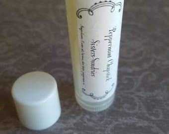 Peppermint Lip Balm, Lip Balms, Beeswax Lip Balm