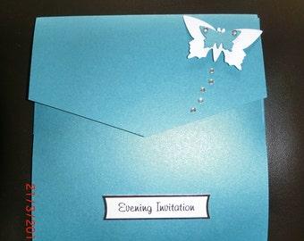 Butterfly Pocket Invitations