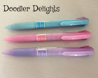 Pastel pen multi colour ink pen
