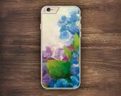 Watercolour Flowers iPhone Art Case iPhone 6 Case iPhone 6S Case iPhone 5S Case iPhone 5 Case iPhone 5C Case iPhone 7 Case iPhone 4 Case