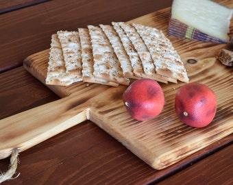 Long Cutting Board, bread board, serving board, baguette board, charcuterie board, wine and cheese board, farmhouse decor