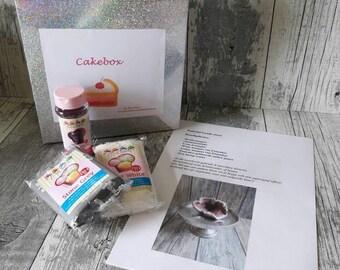 Cakebox geode stone
