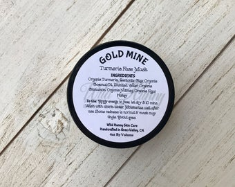 Gold Mine-Turmeric Face Mask