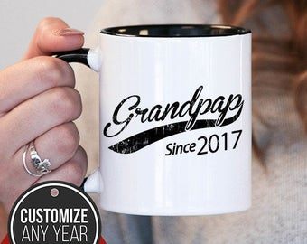 Grandpap Since (Any Year) Grandpap Gift, Grandpap Birthday, Grandpap Mug, Grandpap Gift Idea, Baby Shower,