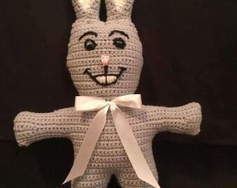 Gray Plush Bunny