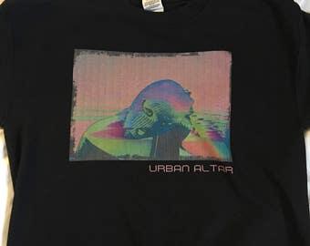 ski mask glitch sweater streetwear urban altar apparel
