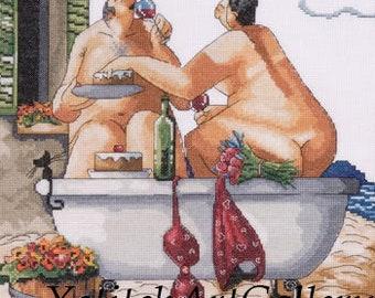 Bath and Wine PDF format / Digital Download