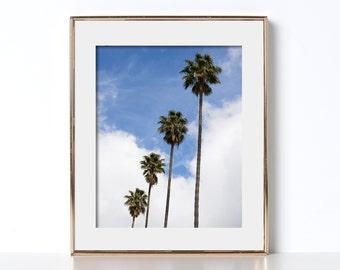Beautiful Scenery LA Print Digital Download Printable Art Typography Print Traveler Art The Best Art West Coast Style Chill Vibes Palm Trees