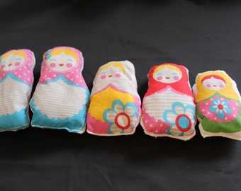Babushka dolls, dolls, Mtroskh, Scented pillows, smell of lavender, Lavender Pillows,