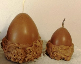 Soy wax candles-Chocolate Eggs
