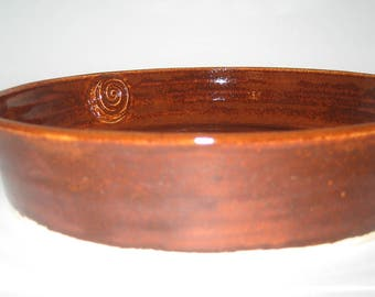 Hand Thrown Pottery Casserole