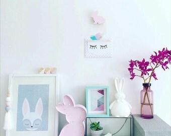 Kids Wall Hooks - Bunny
