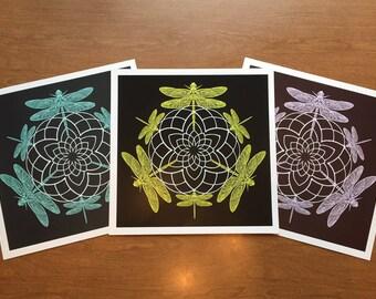 Original Dragonfly Print