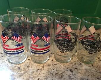 Bicentennial Glasses Set of 7