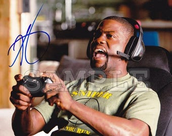 Kevin Hart signed 8x10 Autograph RP - Great Gift Idea - Ready to Frame photo picture
