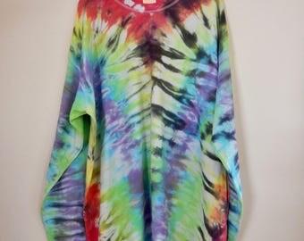 Men's XL rainbow long sleeve shirt