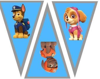 Paw Patrol Banner