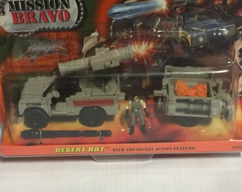 Matchbox mission bravo c1998 on original card.  Does  have a few little lifts and blemishes on card , never taken out.