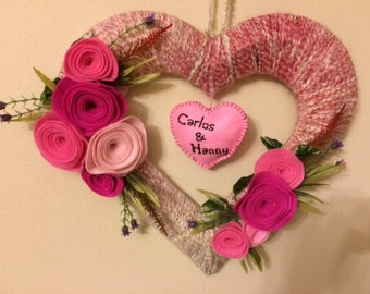 Hearth Shape Wreath
