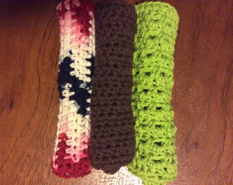 Crochet wash cloth /spa / dish cloth