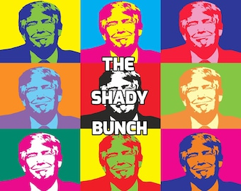 "C-01: ""The Shady Bunch"" - Individual Postcard"