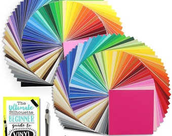 Oracal 631 and 651 Vinyl Bundle with Accessories 12 x 12 - 129 Assorted Colors