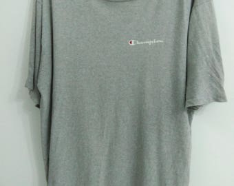 SALE! Vintage Champion T-shirt Authentic Design Made in USA