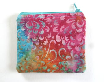 EMF Shielding Homeopathy Storage Zippered Bag (Batik)