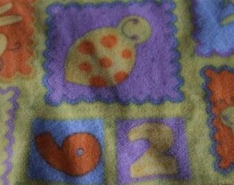 6 Cute colorful Fleece Vintage Fleece
