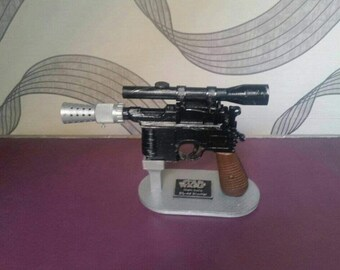 Replica blaster Star wars DL-44 have only, bracket and plate